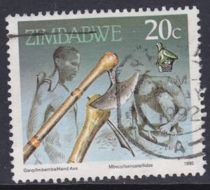 Zimbabwe 1990 Cultural Artifacts Axe & Adze 20c - used