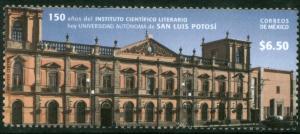 MEXICO 2638, $6.50P University of San Luis Potosi. MINT, NH. VF..