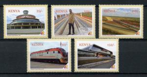 Kenya 2017 Nairobi-Mombasa Standard Gauge Railway, MNH