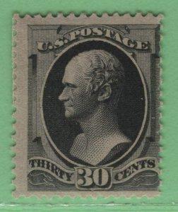 $US Sc#190 M/HH/F, Crowe Cert., no faults, Cv. $850