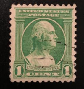 705 Washington Series, Circulated single, Vic's Stamp Stash