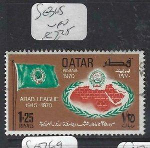 QATAR  (PP1806BB) SG 345   VFU