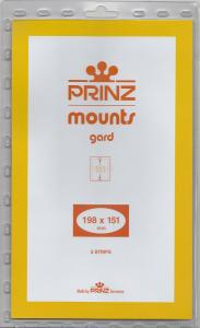 PRINZ CLEAR MOUNTS 198X151 (5) RETAIL PRICE $10.50