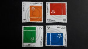 50th anniversary of EUROPA stamps - Armenia - complete set perf. ** MNH