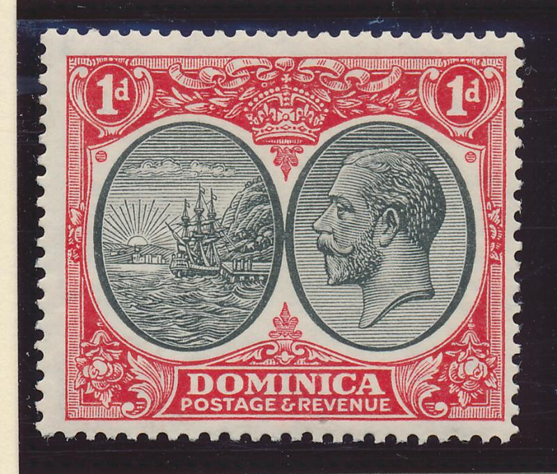 Dominica Stamp Scott #67, Mint Hinged - Free U.S. Shipping, Free Worldwide Sh...