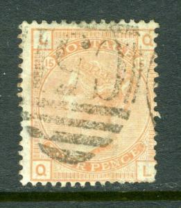 Britain #69 Fantastic and clean -nice (USED)  cv$450.00