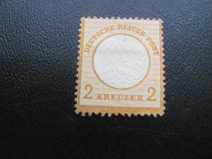 GERMANY 1872 NO GUM MI.NR. 15 SMALL SHIELD SINGLE