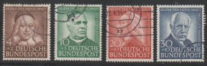 GERMANY Scott B334-7 VF Used