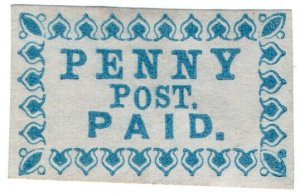(I.B) US Local Post : Penny Post