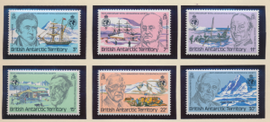 British Antarctic Territory (B.A.T.) Stamps Scott #76 To 81, Mint Never Hinge...