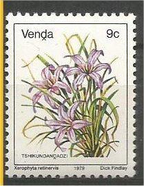 VENDA, 1979, MNH 9c, Flowers, Scott 13