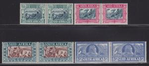 South Africa B5-B8 MH set pairs nice colors cv $ 78 ! see pic !