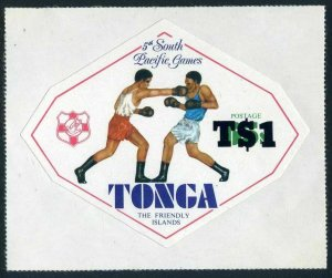 Tonga 482,MNH.Michel 774. 5th South Pacific Games,new value,1980.Boxing.