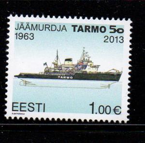 Estonia Sc 728 2013 € 1 Icebreaker Tarmo stamp mint NH