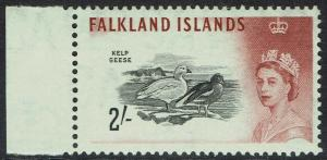 FALKLAND ISLANDS 1960 QEII BIRDS 2/- MNH **