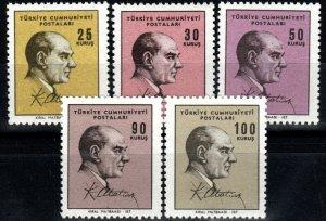 Turkey #1724-8  MNH CV $5.10 (X738)