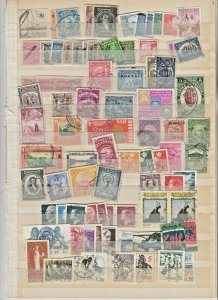 WORLDWIDE 2 STOCK PAGES COLLECTION LOT #4 SWEDEN LATIN AMERICA MORE $$$$$$$