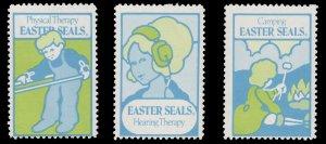 USA CINDERELLA STAMP. EASTER SEAL 1974. UNUSED. # 32