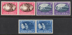 South Africa 1945 Victory set MNH