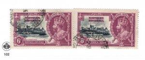 Northern Rhodesia #21 Used - Stamp CAT VALUE $2.50 RANDOM PICK