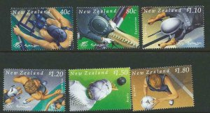 NEW ZEALAND SG2347/52 2000 OLYMPIC GAMES MNH