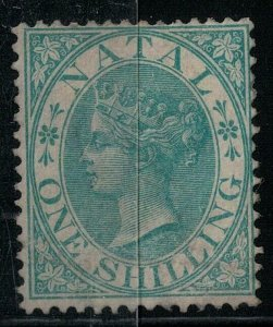 Natal 1867 SC 17 Mint SCV $275