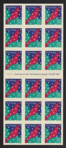 2874A, P# V1111, P.O. FRESH BOOKLET PANE, IN  **XF**, MINT NH, SHIP $1.00