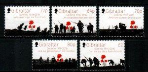 Gibraltar #1553-1557  MNH  Scott $12.50