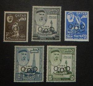 Qatar 37-41. 1964 Olympics, NH