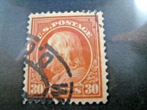 UNITED STATES,  1912   SCOTT #420   -   Used