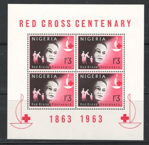 Nigeria 1963 Red Cross Scott # 149a MNH