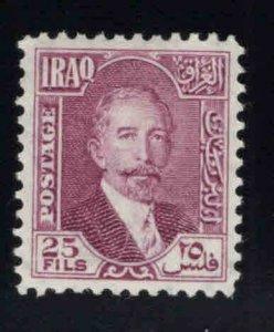 IRAQ Scott 52 MH* stamp