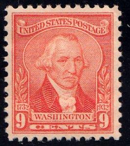 United States Scott 714 Mint never hinged.