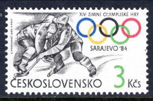 Czechoslovakia 2496 Olympics MNH VF