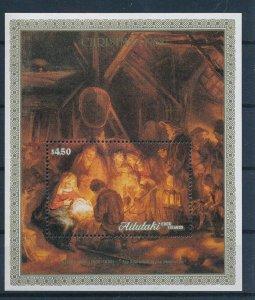[I1742] Aitutaki 1988 Christmas good sheet very fine MNH