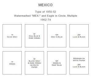 PRINTED MEXICO 1856-2010 + 2011-2014 STAMP ALBUM PAGES (459 pages)
