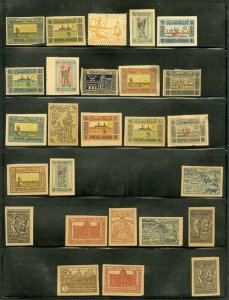 Azerbaijan Lovely early mint STAMP collection Over 100+ early 1900's