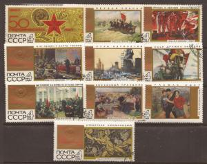 Russia  # 3387 - 96   Used