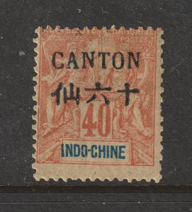 Canton a MH 40c from the 1903 set