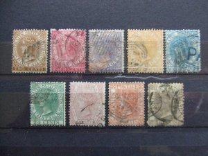 Straits QV 1867 set