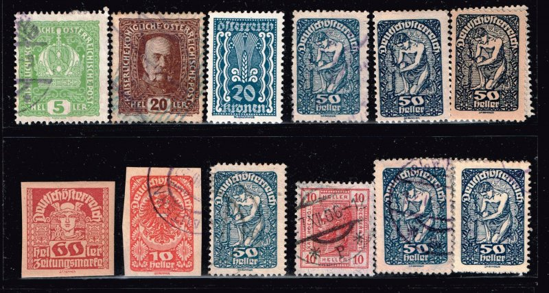 AUSTRIA Stamp COLLECTION LOT #3