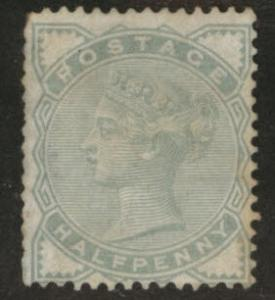Great Britain Scott 78, 1880 Victoria 0.5p  CV$13