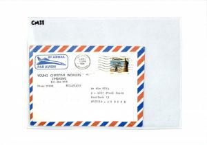 MADAGASCAR Cover LEPROSERIE Missionary Air Mail MIVA 1994 CM38