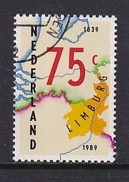 Netherlands   #750  cancelled   1989   Division of Limburg
