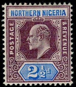 NORTHERN NIGERIA SG13, 2½d dull purple & ultramarine, LH MINT. WMK CA