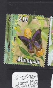 MALAYSIA (P3008B)  SG 65, 70-1  NEW PAPER    MOG