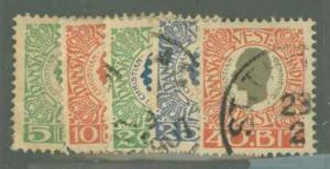 Danish West Indies 31-35 Used VF