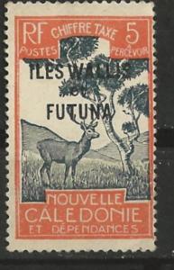 Wallis & Futuna # J13   Postage Due - 5c Sambar  (1)  Unused VLH