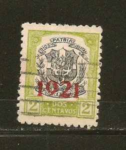 Dominican Republic 228 Overprint 1921 Used
