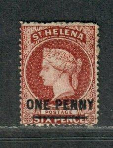 St. Helena Sc#29 M/F-VF, Cv. $120